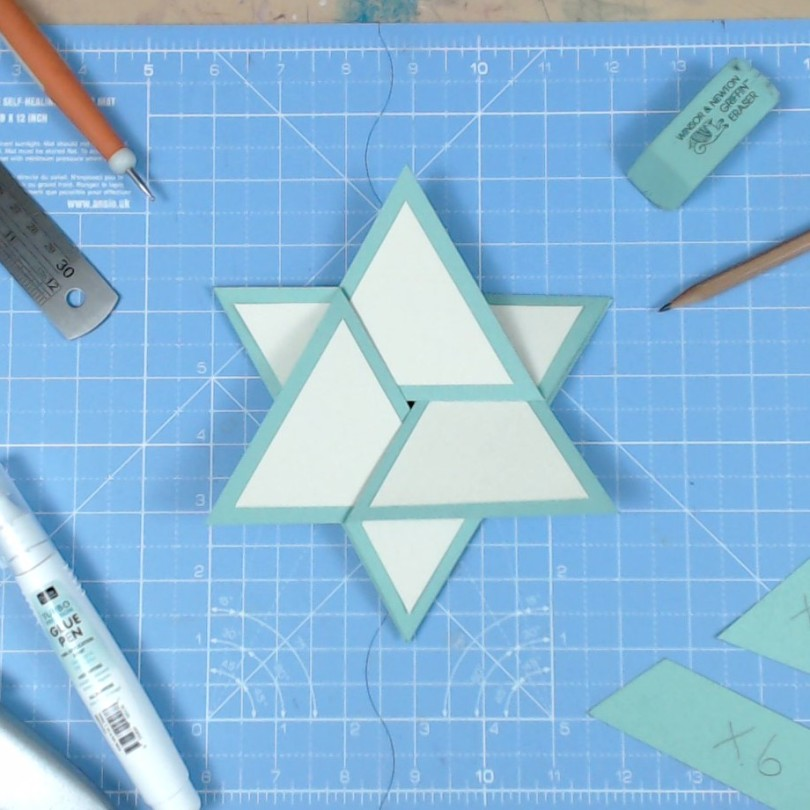 Star Card Video Tutorial by John Bloodworth Gentleman Crafter