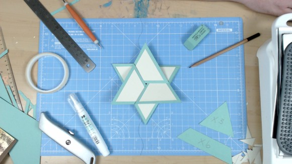 How To Make A Star Card Video by John Bloodworth Gentleman Crafter