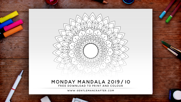 Mandala Monday Free Design To Download And Colour 2019 - 10 Preview