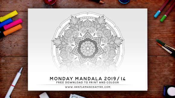 Mandala Monday Free Design To Download And Colour 2019 - 14 Preview.png