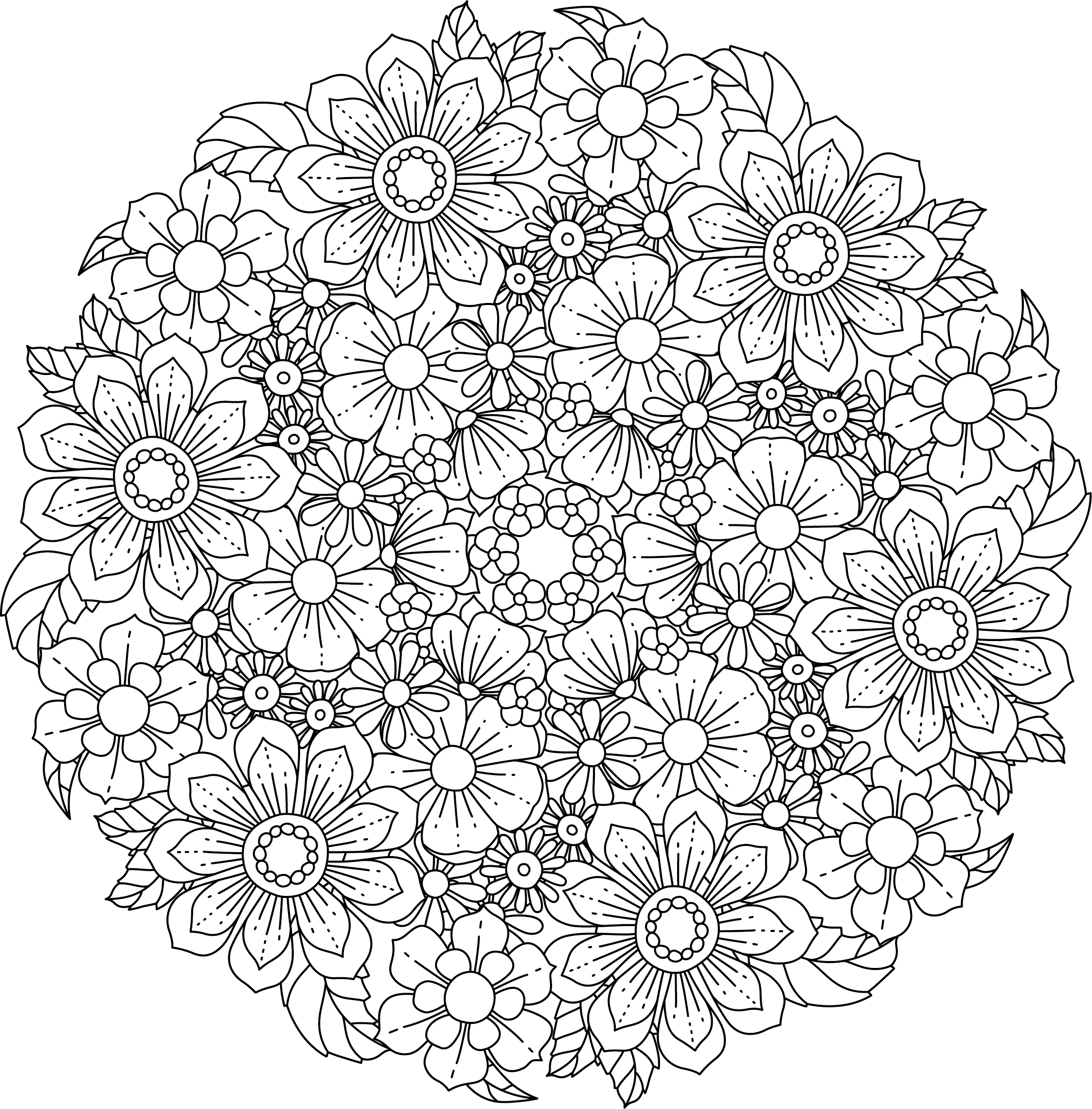 Mandala Monday Free Design To Download And Colour 2019 - 7
