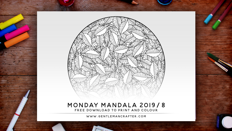 Mandala Monday Free Design To Download And Colour 2019 - 8 Preview