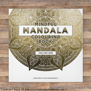 Mandala Colouring Book Volume 1 Image