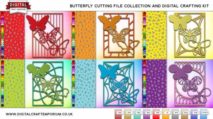 Butterfly SVG Cutting File Collection