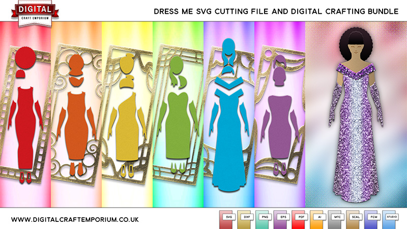Dress Me SVG Cutting File Collection