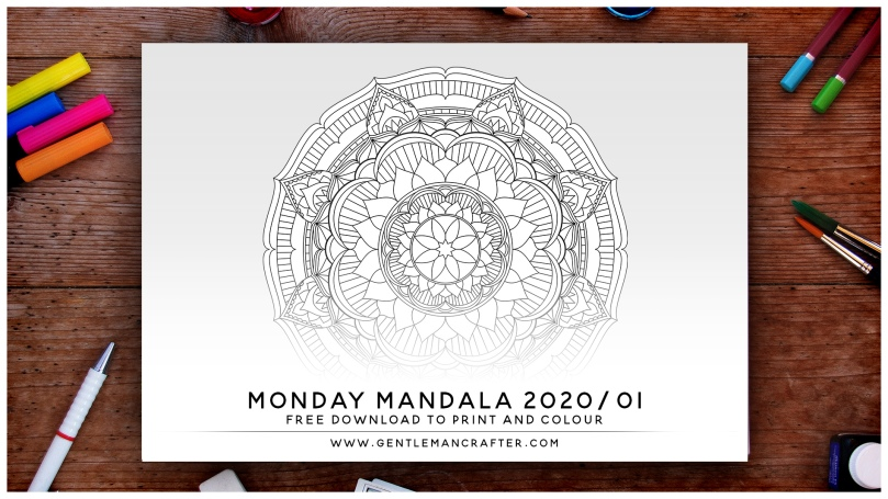 Mandala Monday Free Mandala To Download And Colour In Preview 2020-01