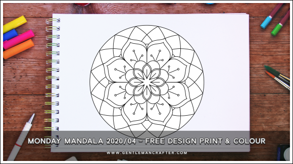 Mandala Monday Free Design To Print And Colour 2020 04