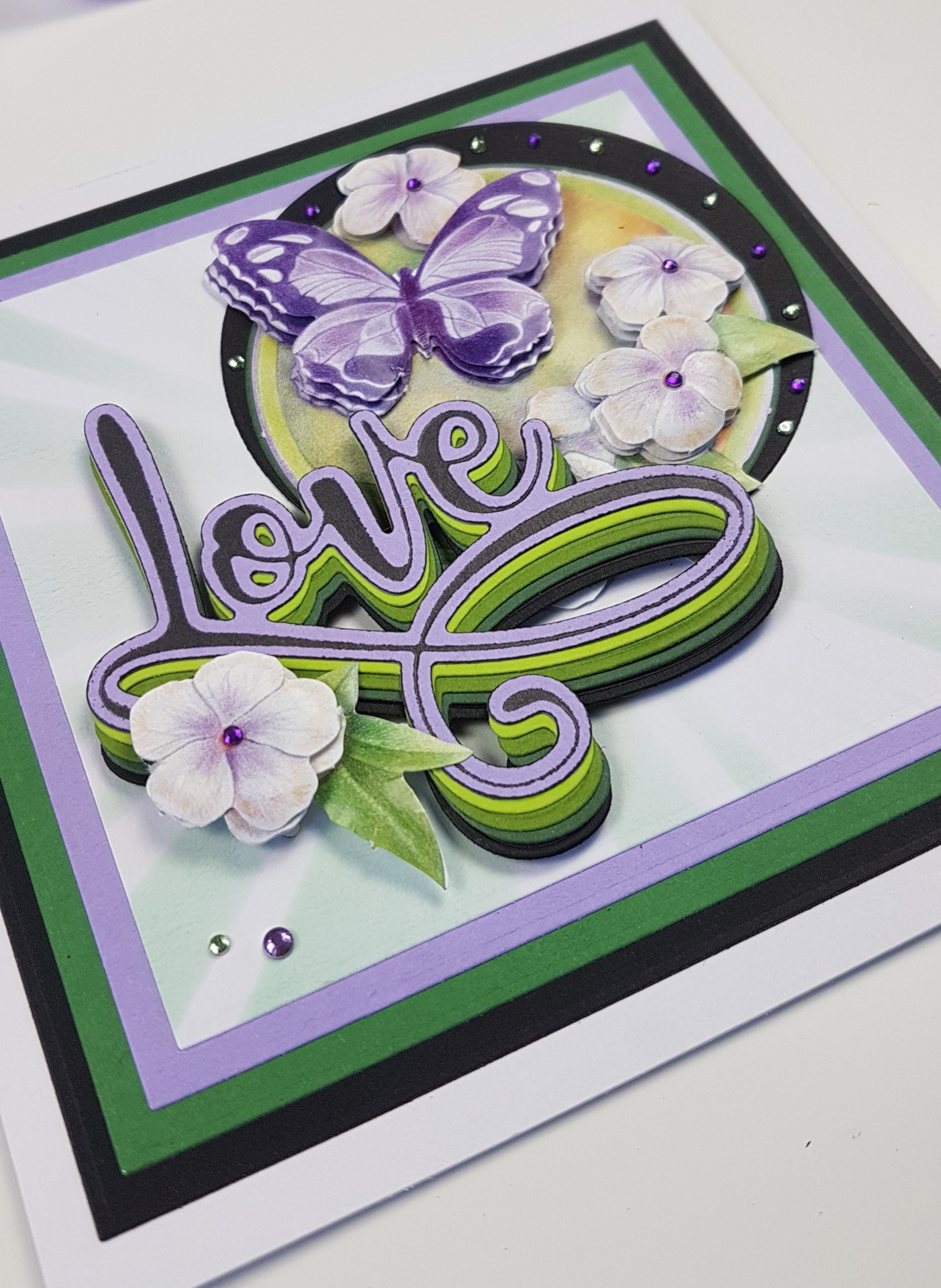 How To Use Embossing Powders With Hot Foil Stamps and Dies