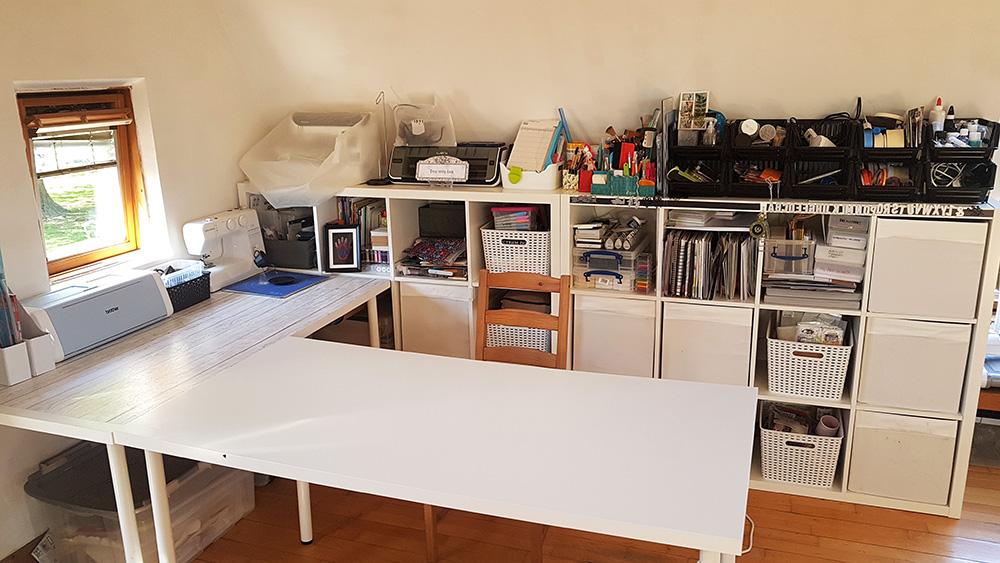 My craft desk.