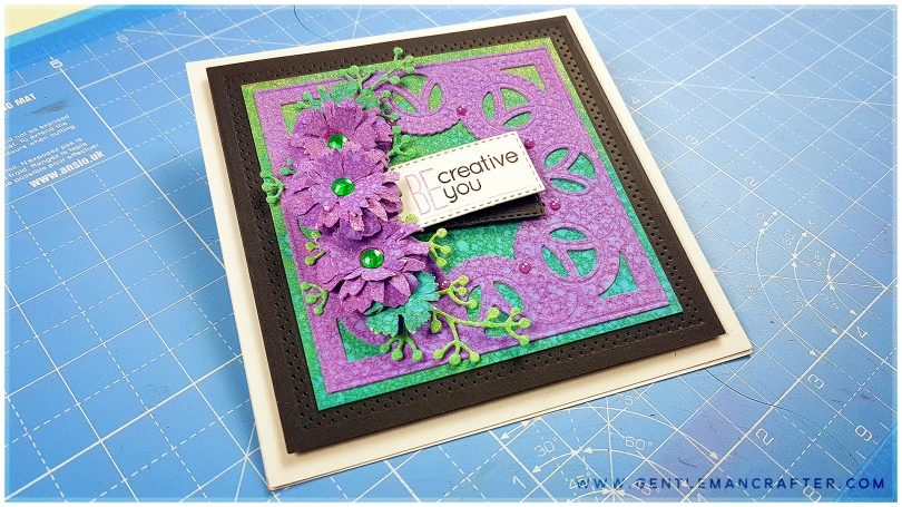 Couture Creations Cathedral Window Cut Foil and Emboss Die