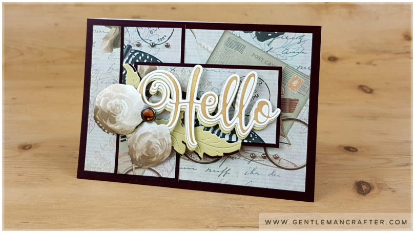 John Bloodworth Gentleman Crafter Couture Creations Hello 2