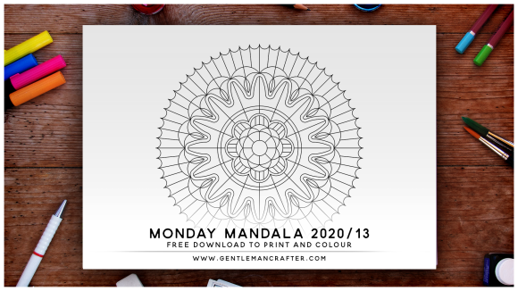Mandala Monday Hand Drawn Mandala To Download And Colour 2020-13
