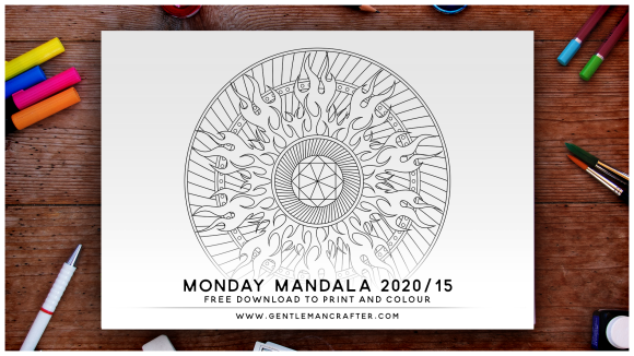 Mandala Monday Hand Drawn Mandala To Download And Colour Preview 2020 15