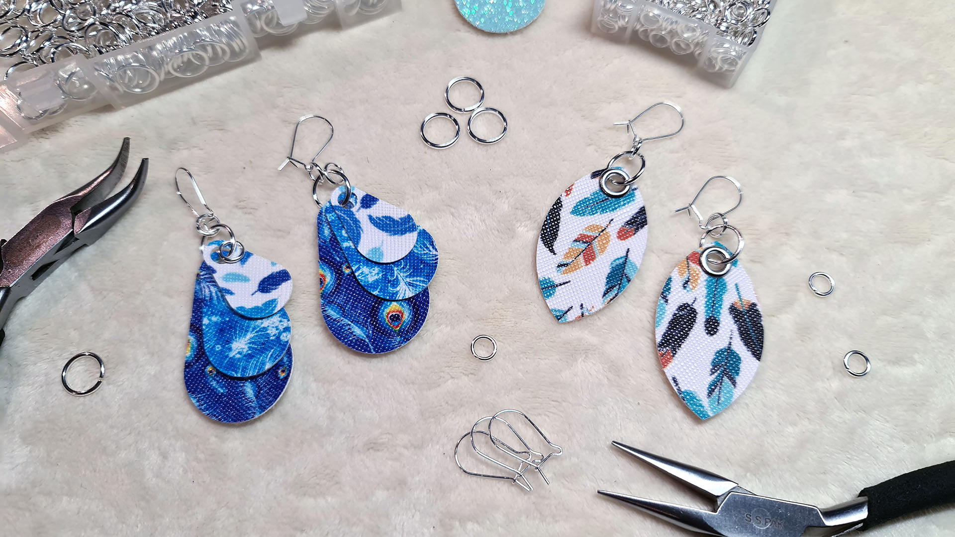 Design And Make Fabric Earrings Using The Brother Scan N Cut