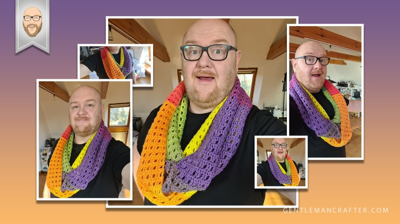 Infinity Scarf Crochet Patter Blog Featured Image