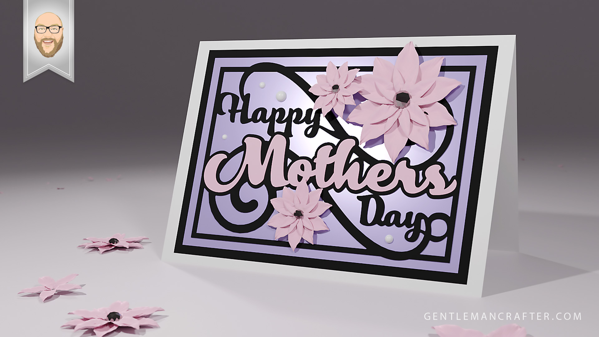 Free It comes with a complete commercial license! Free Svg Cutting File Mothers Day Card Gentleman Crafter SVG, PNG, EPS, DXF File
