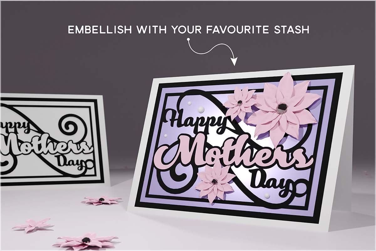 Free It can be used in many different software programs including silhouette studio, cricut design space. Free Svg Cutting File Mothers Day Card Gentleman Crafter SVG, PNG, EPS, DXF File